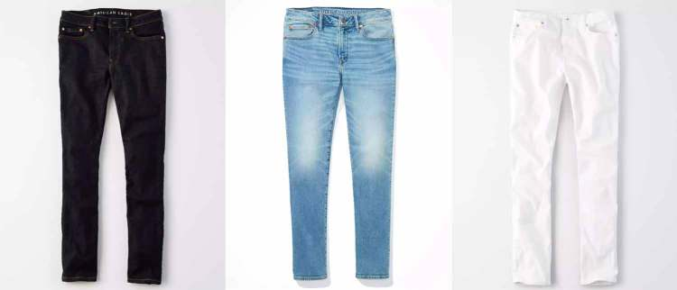 ae jean styles colors