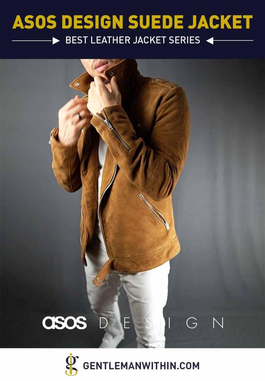 ASOS DESIGN Suede Biker Jacket Review (Best Leather Jacket Series) | GENTLEMAN WITHIN