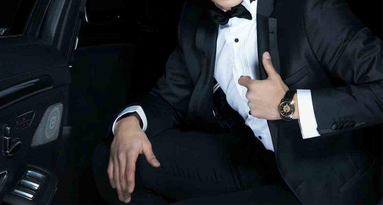 black tie wedding tuxedo 1