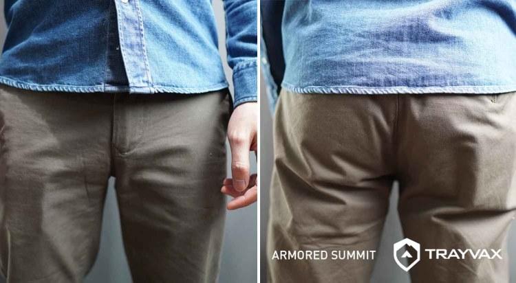 trayvax armored summit wallet in pockets