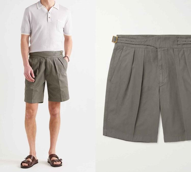 pleated shorts 3