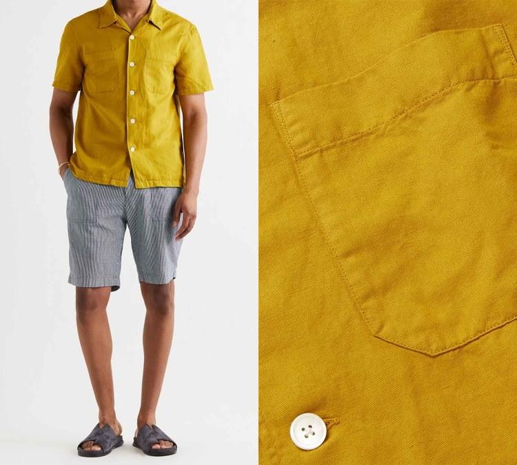 yellow gray pantone 1