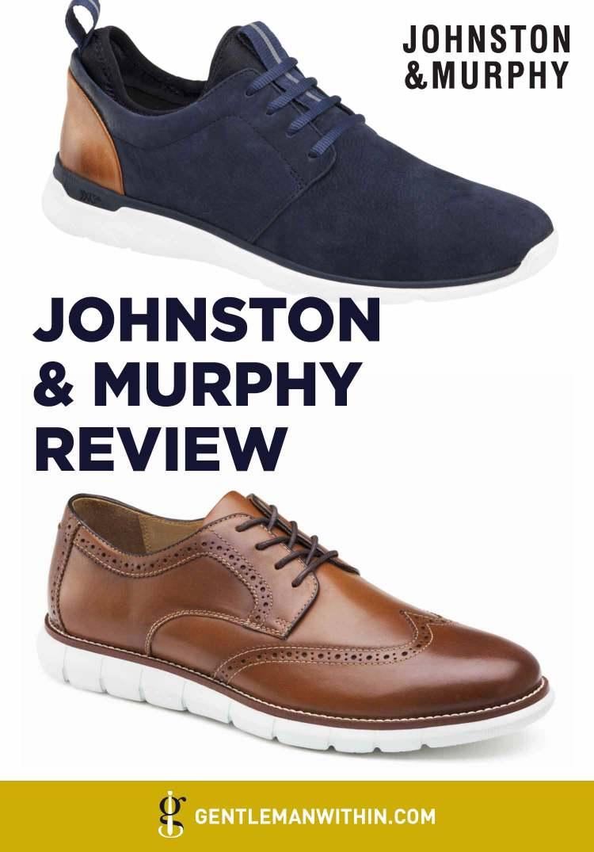 Johnston & Murphy Shoe Review: The Cross Section Between Comfort & Class | GENTLEMAN WITHIN