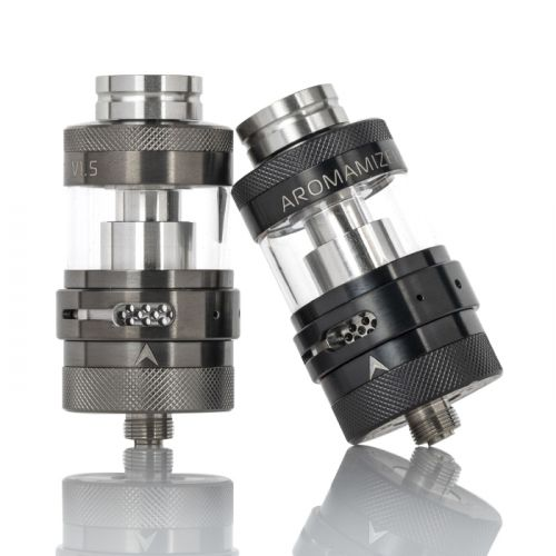 steam crave aromamizer lite v1.5 rta front and tilted view min