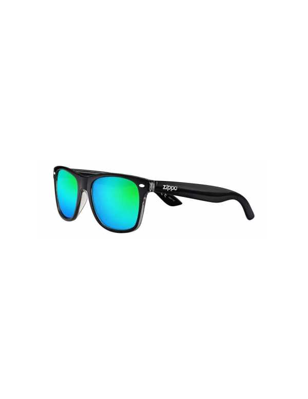 zippo green multicoated classic sunglasses