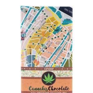 Cannabis Chocolate Milk Amsterdam Coffeshops Map 1 scaled 1