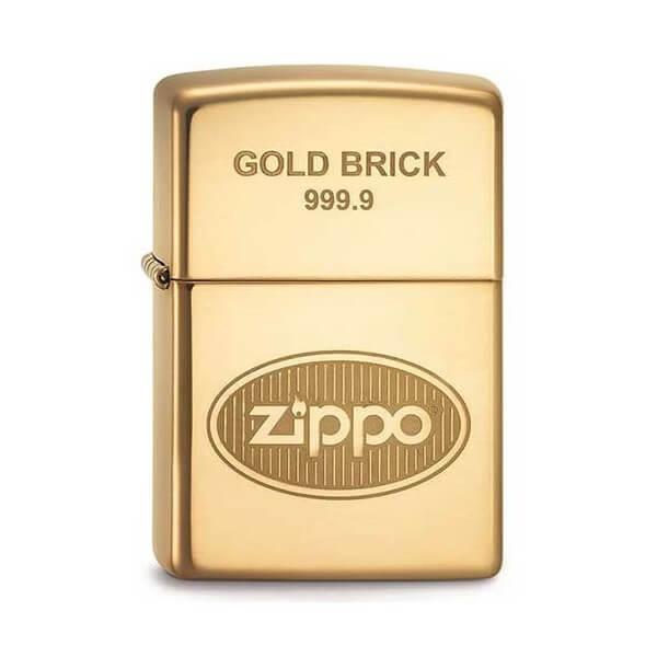 142030 bricheta zippo gold brick 1