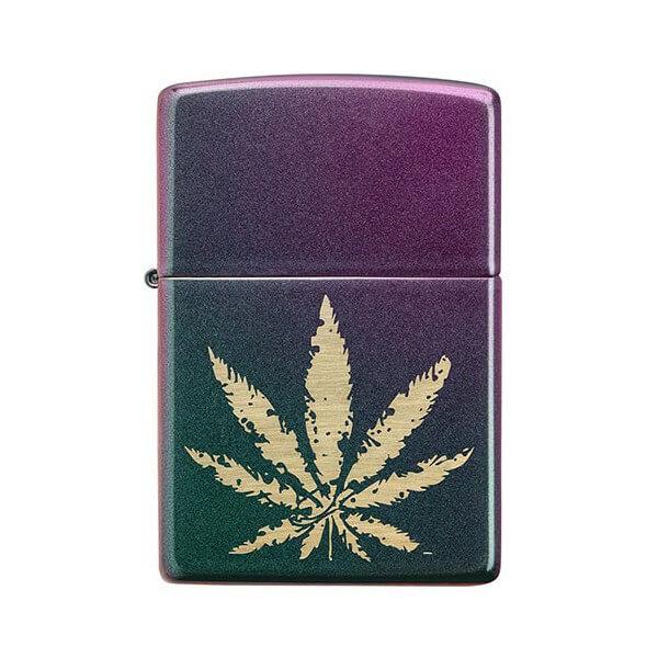 151783 bricheta zippo cannabis design 1