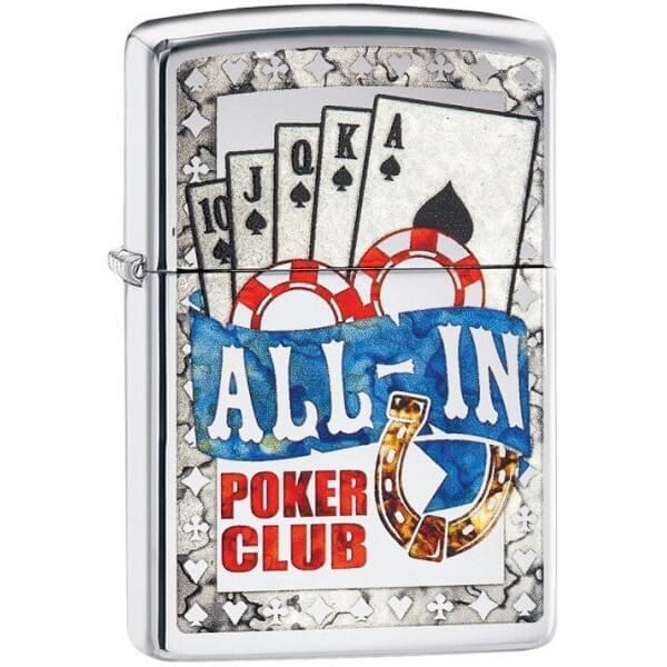 180061 bricheta zippo poker all in