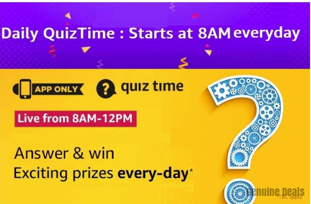 Amazon Quiz 29 March 2020 Answer - Win Samsung S20