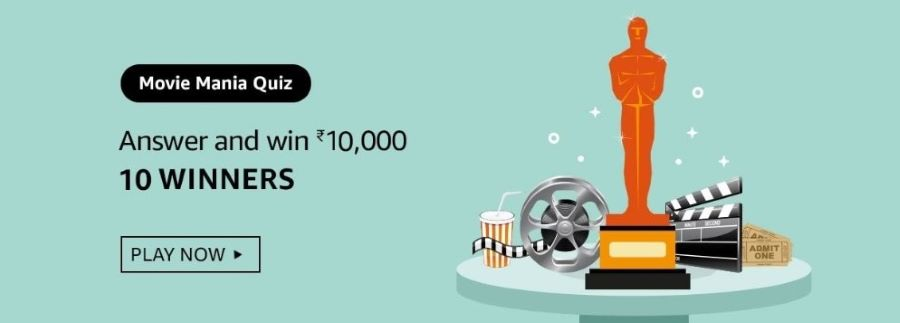 Amazon Movie Mania Quiz Answers – Win Rs.10,000