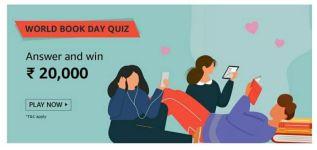 Amazon World Book Day Quiz
