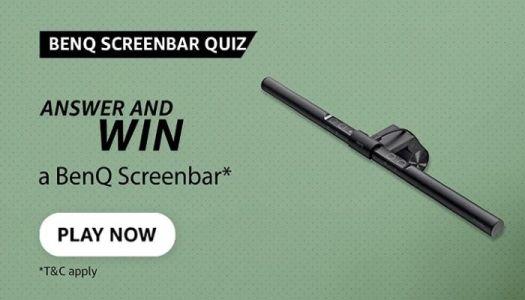 Amazon Benq Screenbar Quiz
