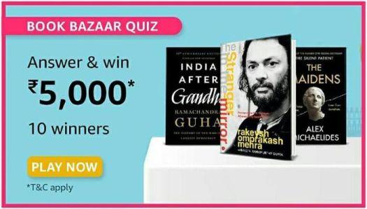 amazon book bazaar quiz answers