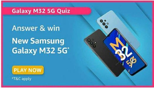 amazon samsung galaxy m32 5g quiz