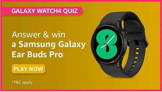 amazon samsung galaxy watch4 quiz