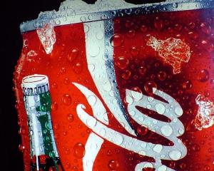 Cold can of Coke