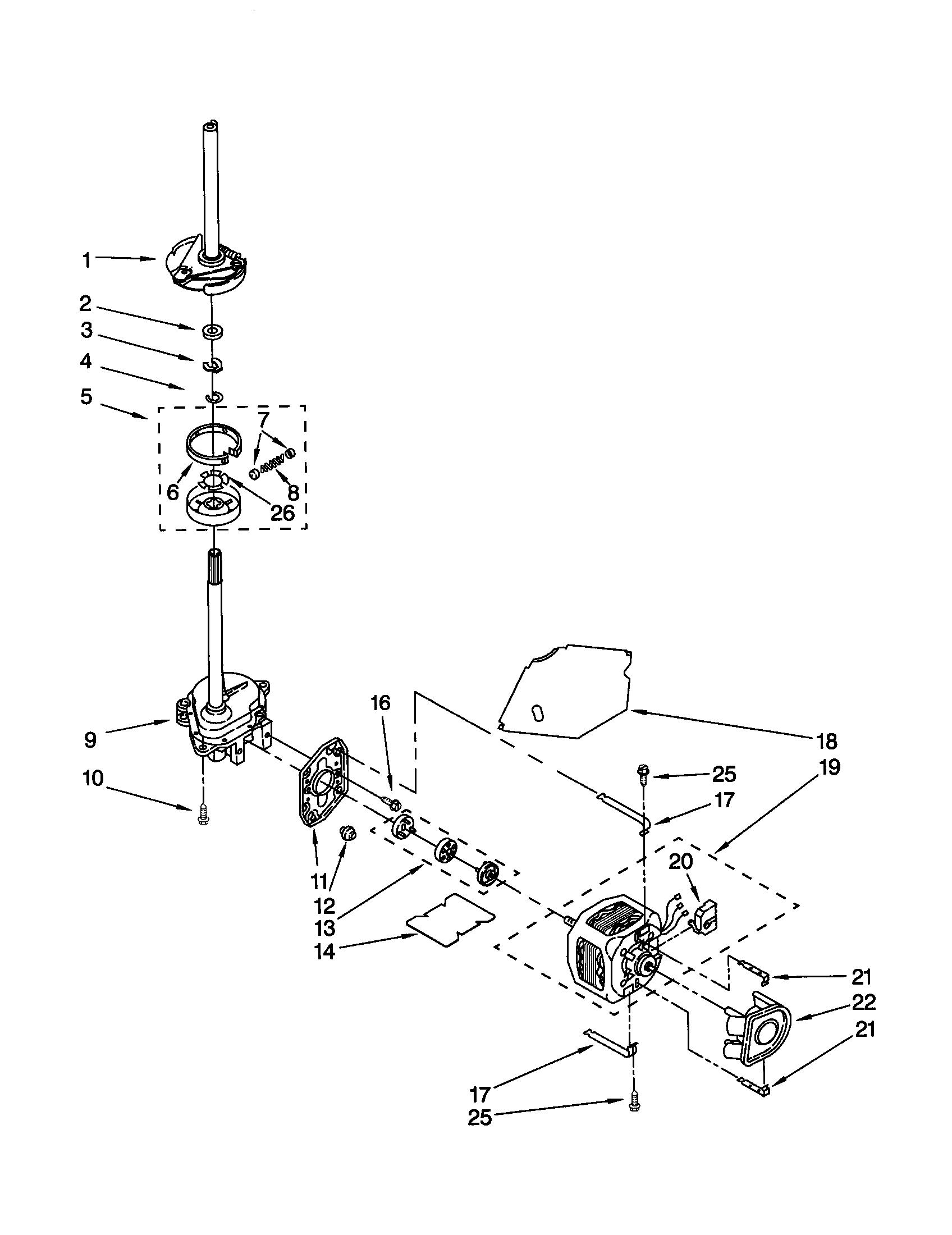 Kenmore 110 Motor Coupling