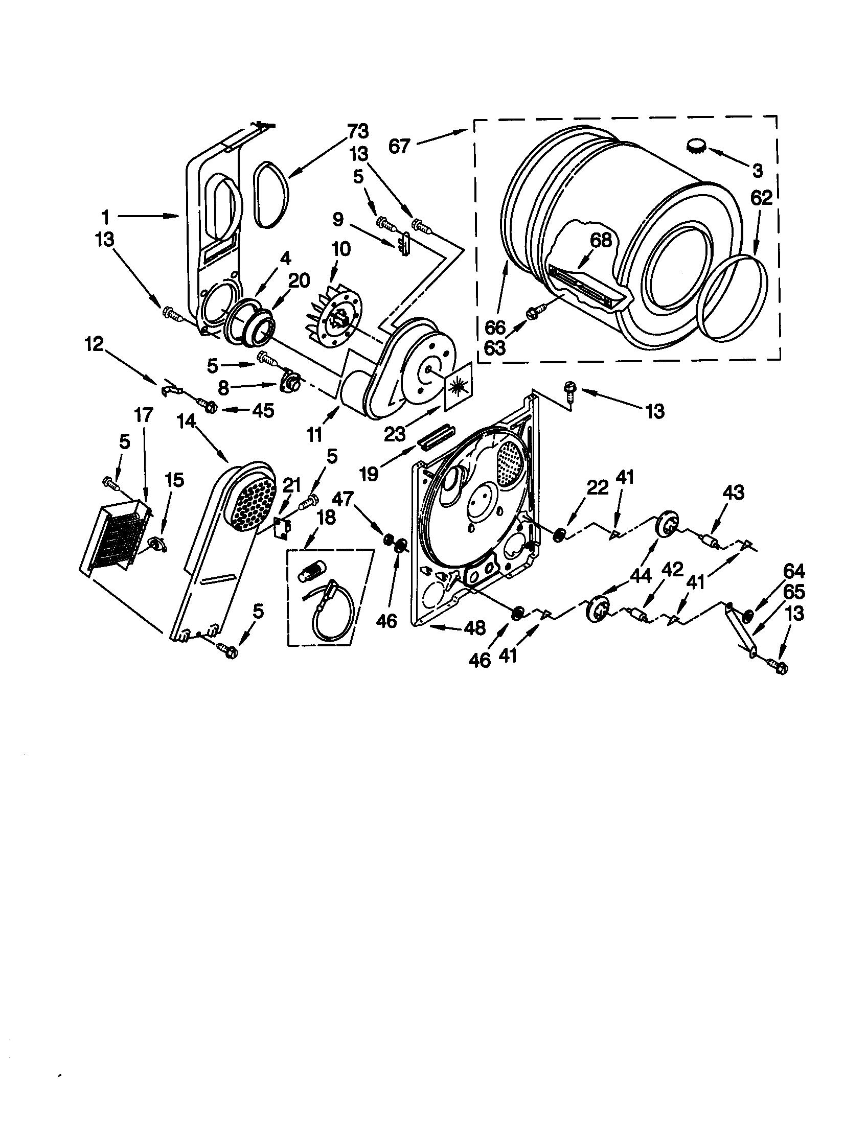 Kenmore 110 Heating Element Box