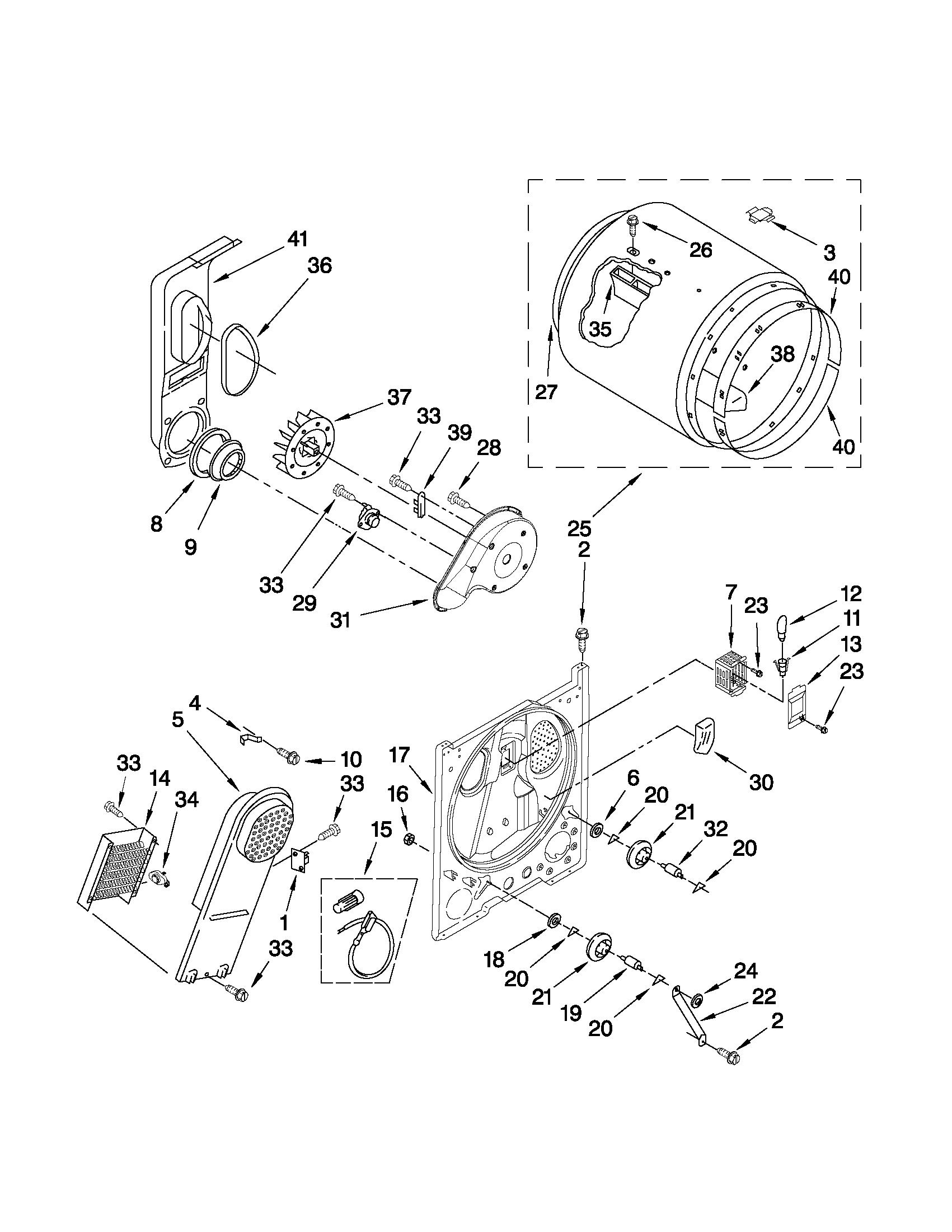 Kenmore 110 Dryer Heating Element
