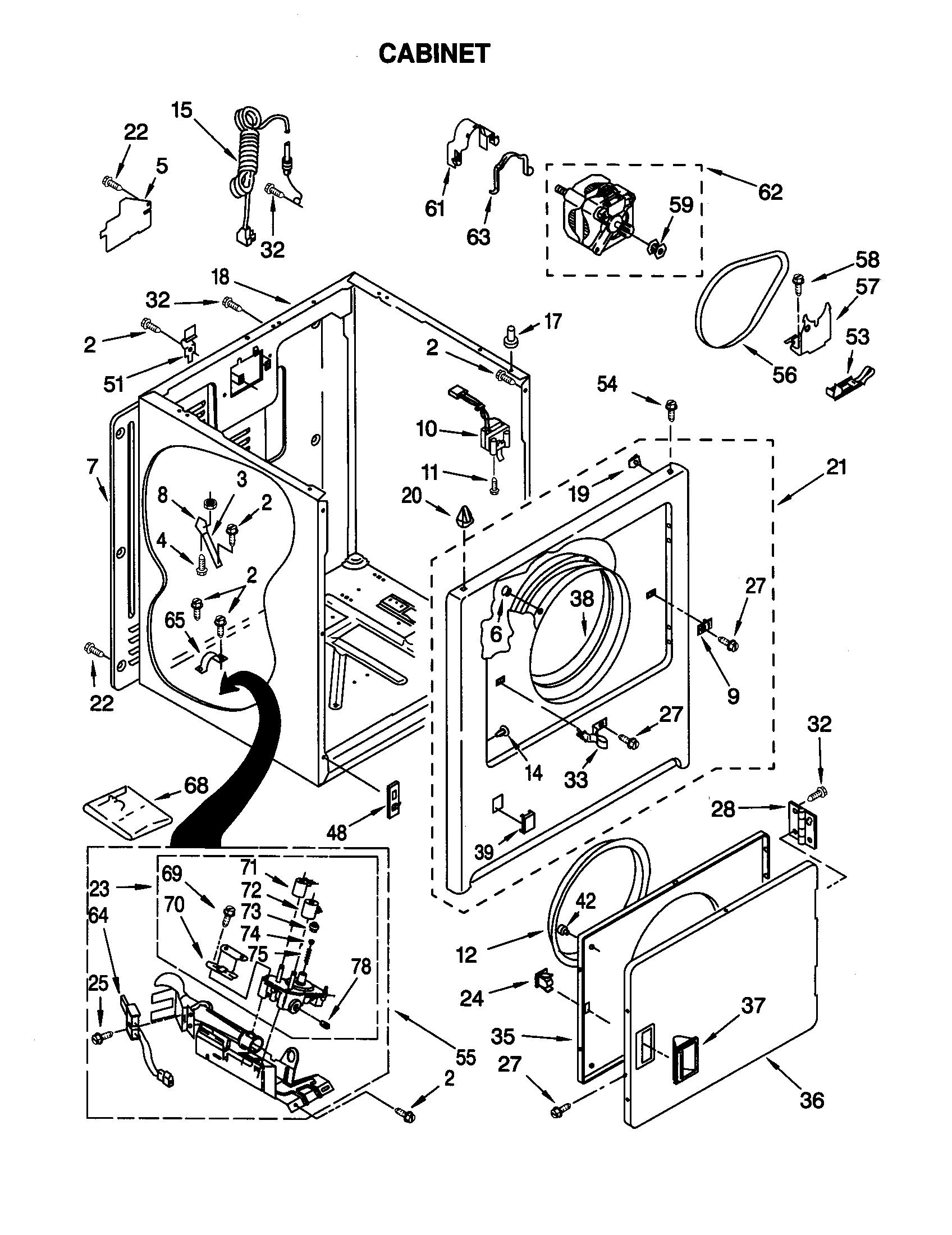 Kenmore 110 Door Latch Kit
