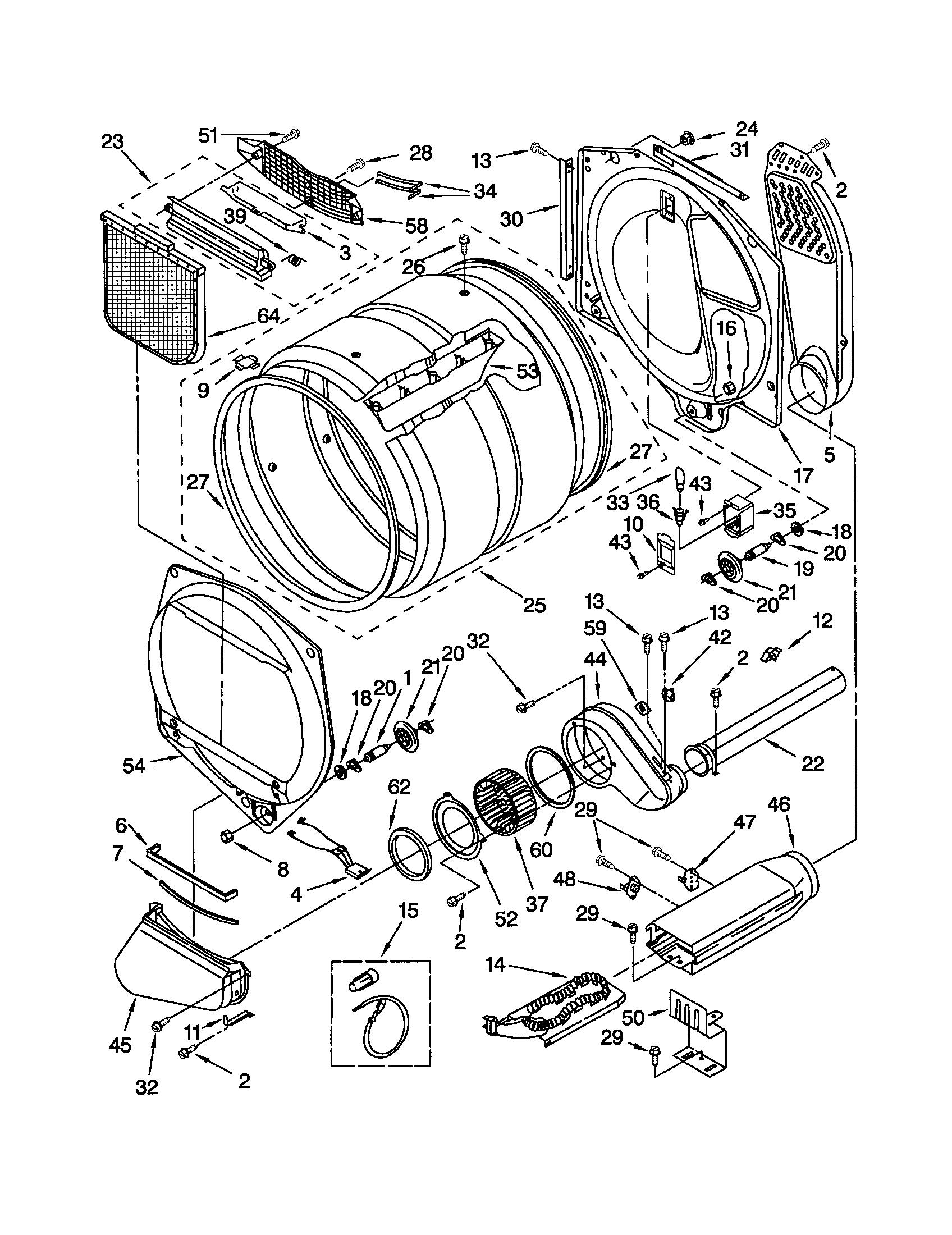 Kenmore 110 Dryer Lint Filter Screen