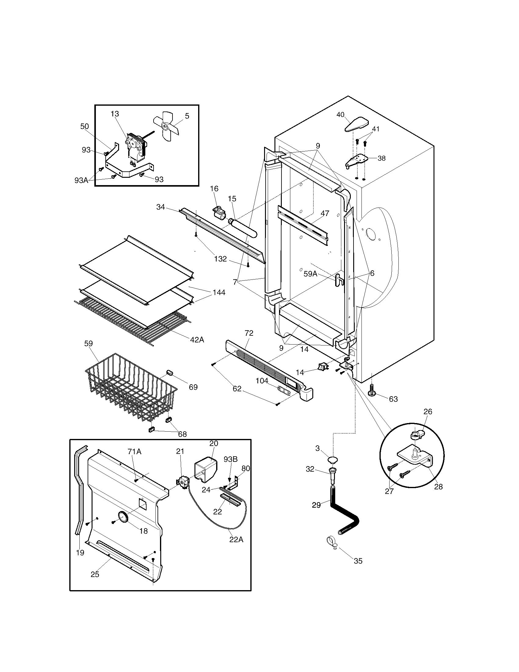 Kenmore 253 Freezer Temperature Control Thermostat