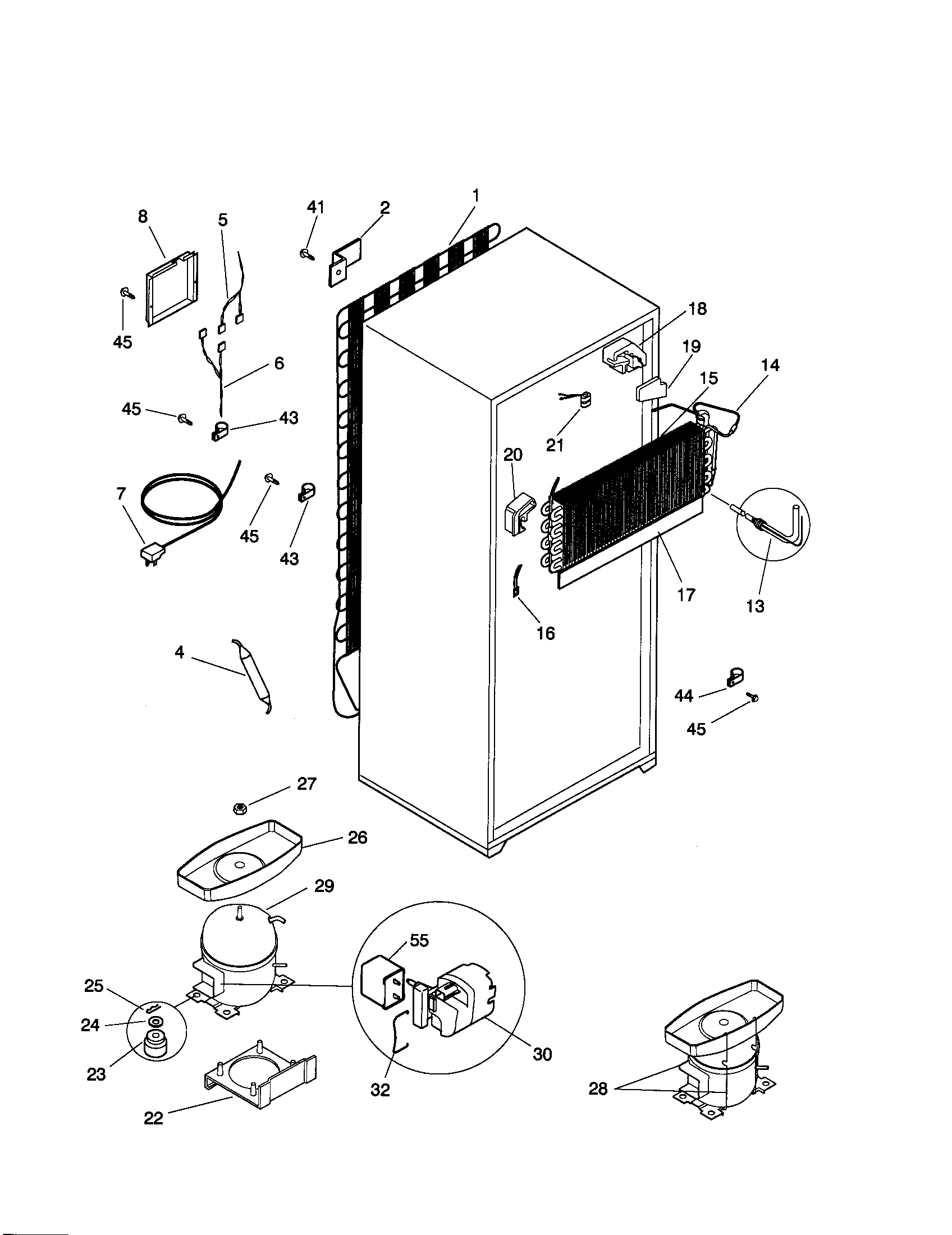 Kenmore 253 Defrost Heater Assembly