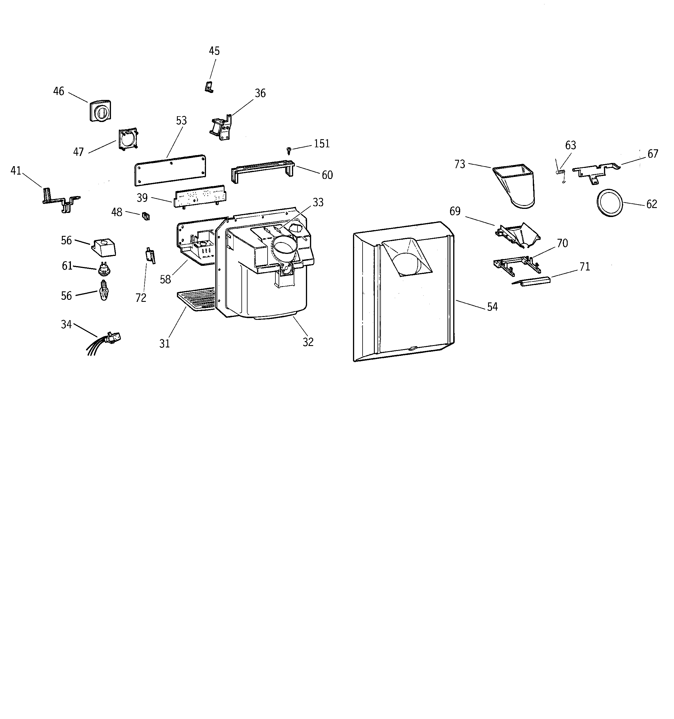 Kenmore 363 Knob