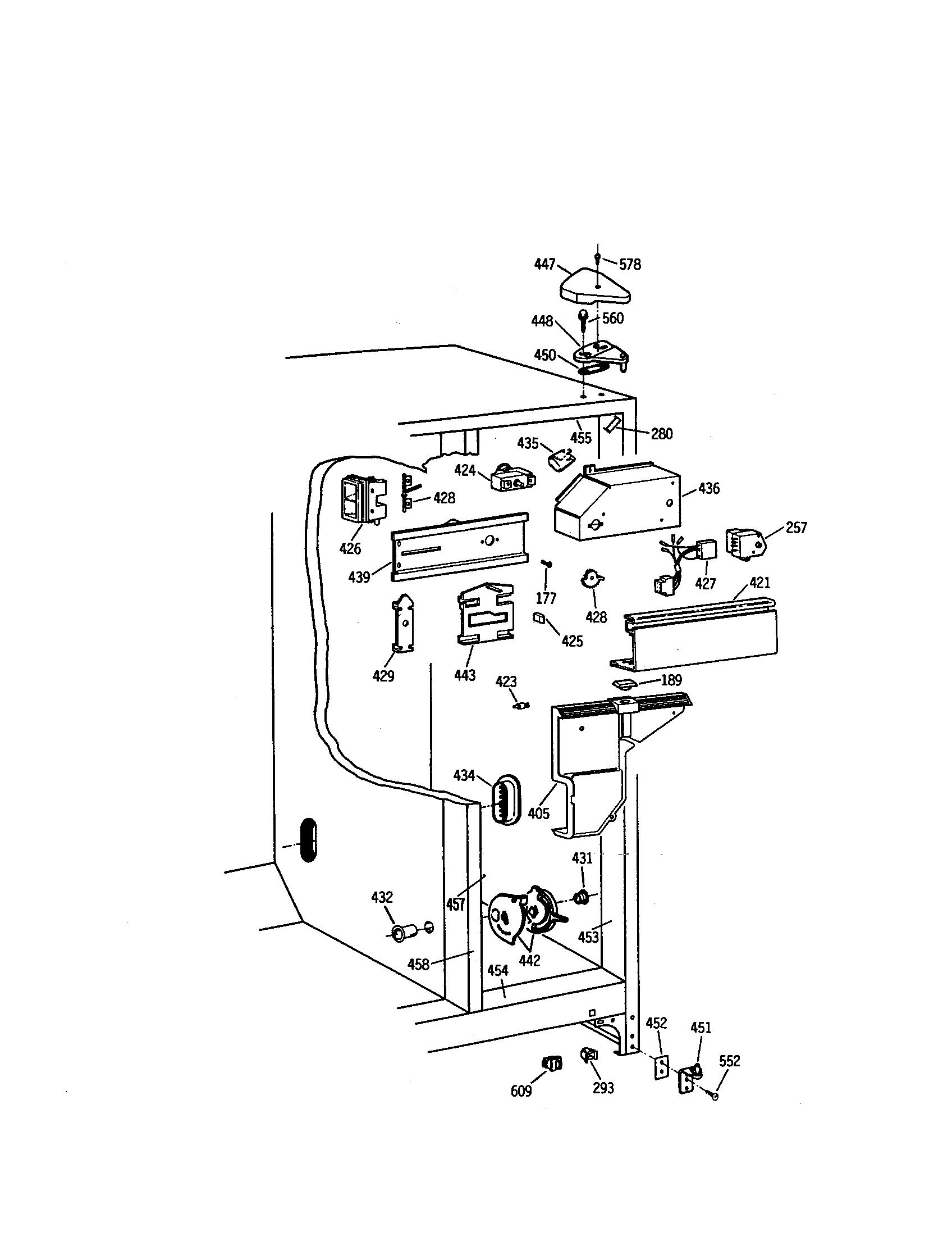 Kenmore 363 Defrost Timer