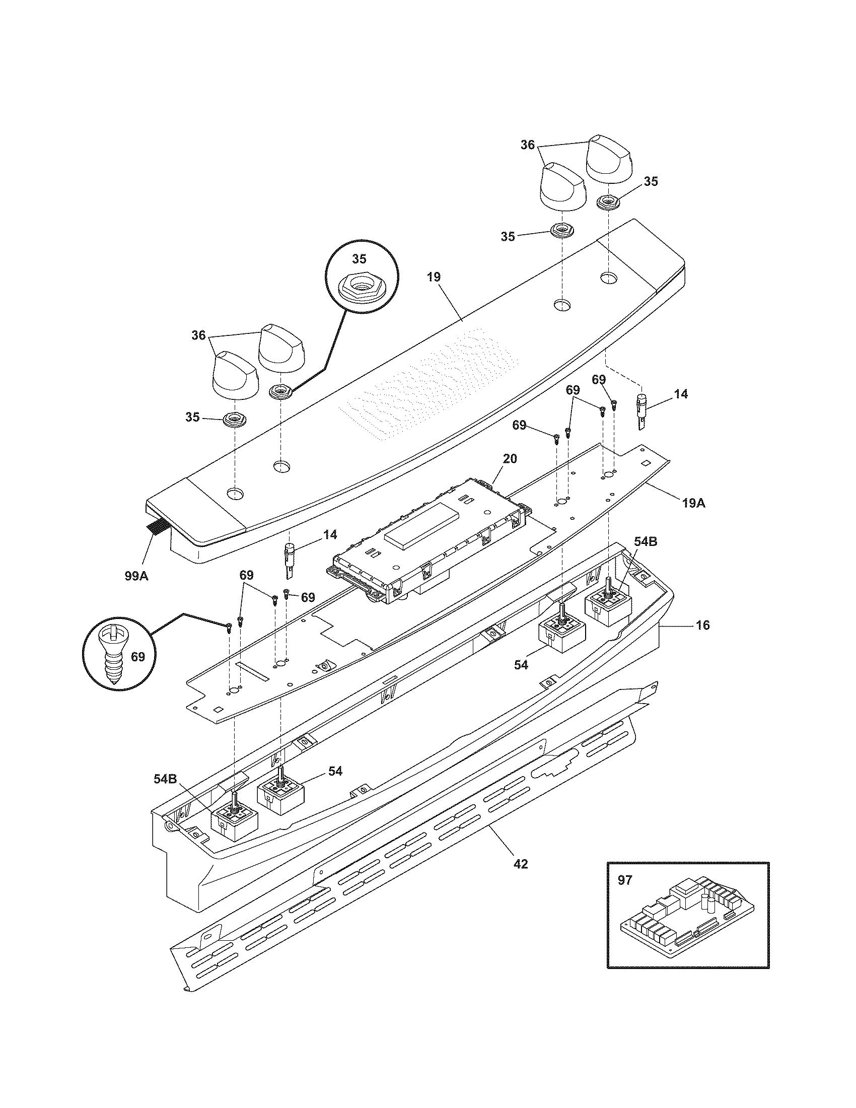Kenmore 790 Dual Infinite Switch