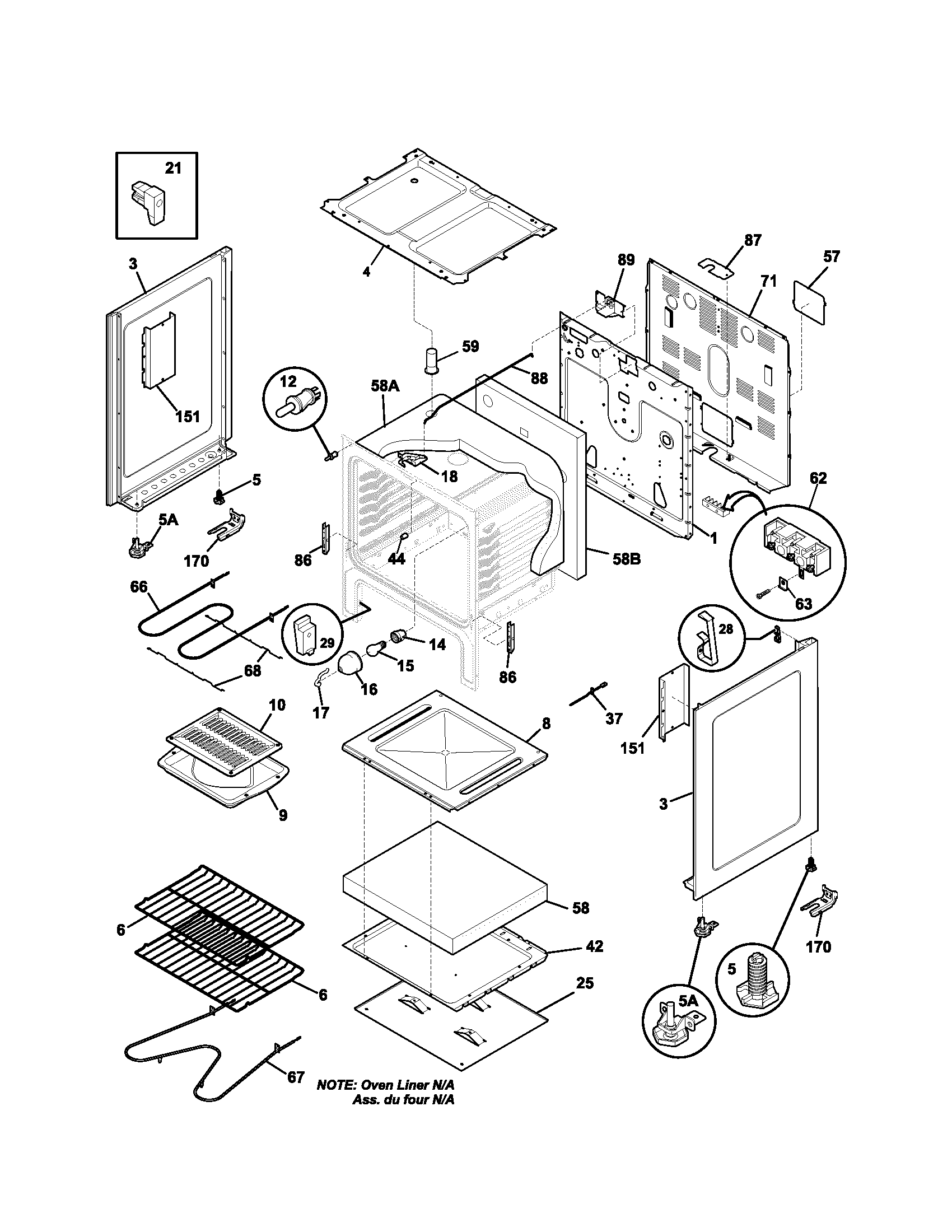 Kenmore 790 Oven Temperature Sensor