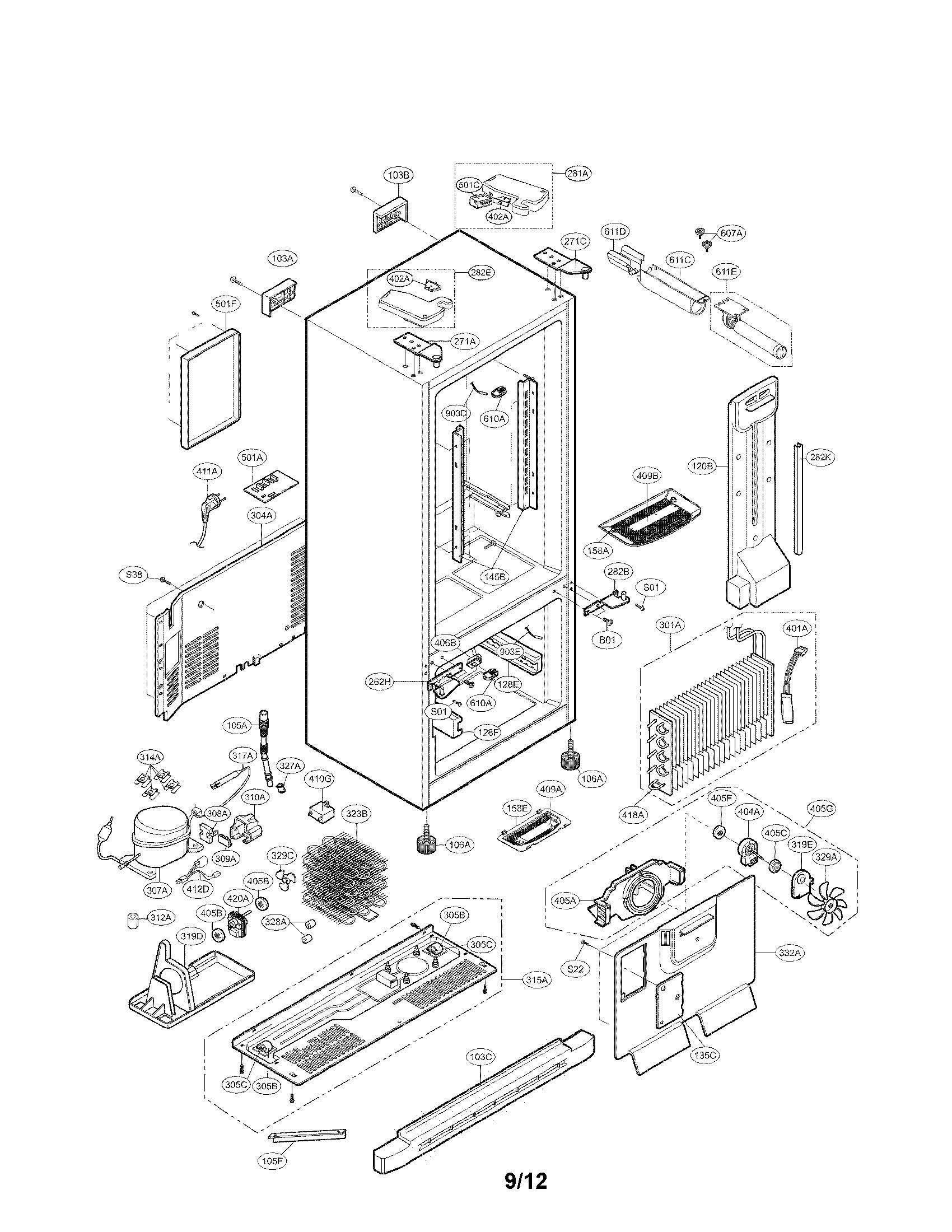 Kenmore 795 Defrost Sensor Assembly