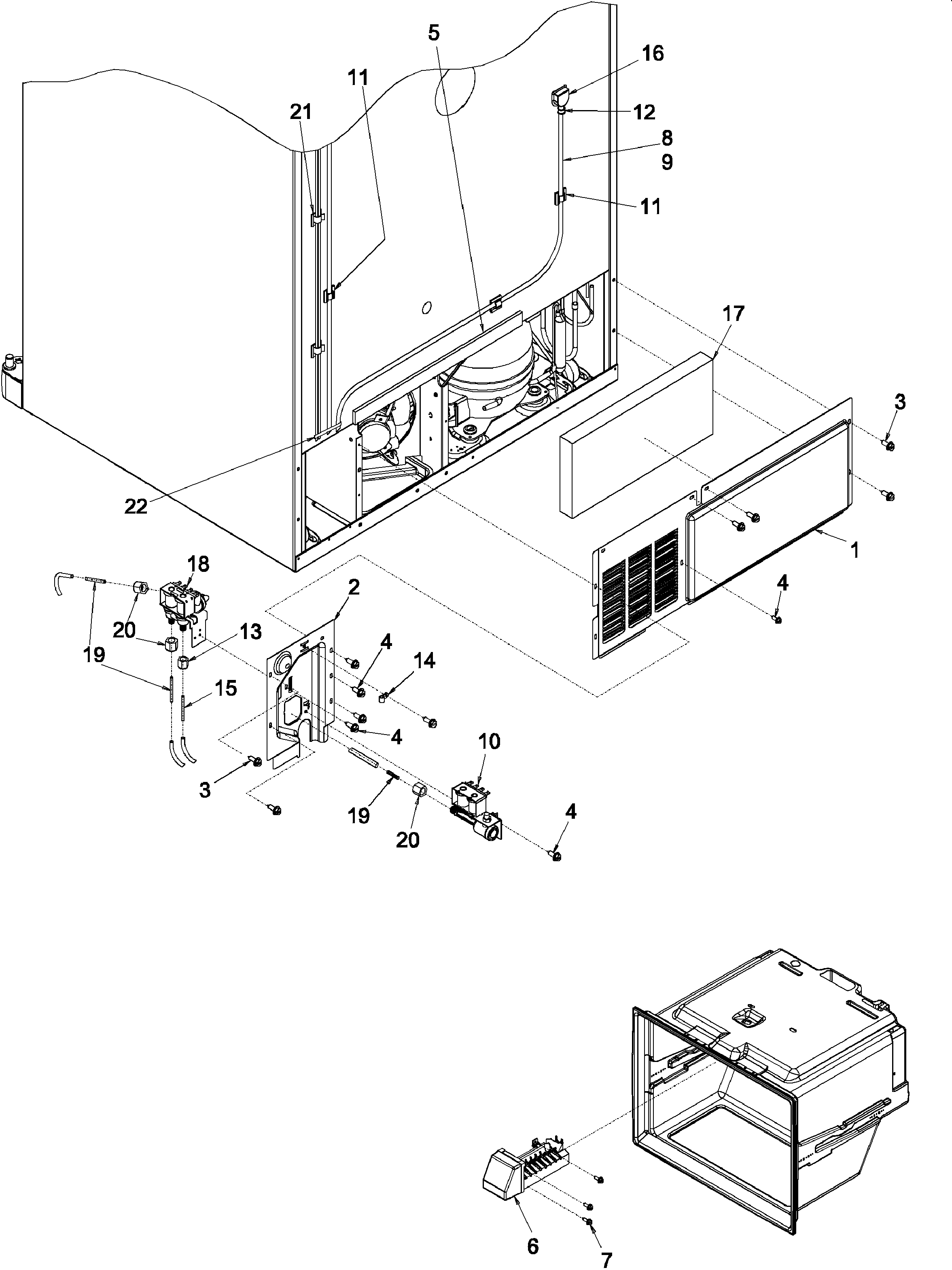 Amana Arb Cb Replacement Ice Maker