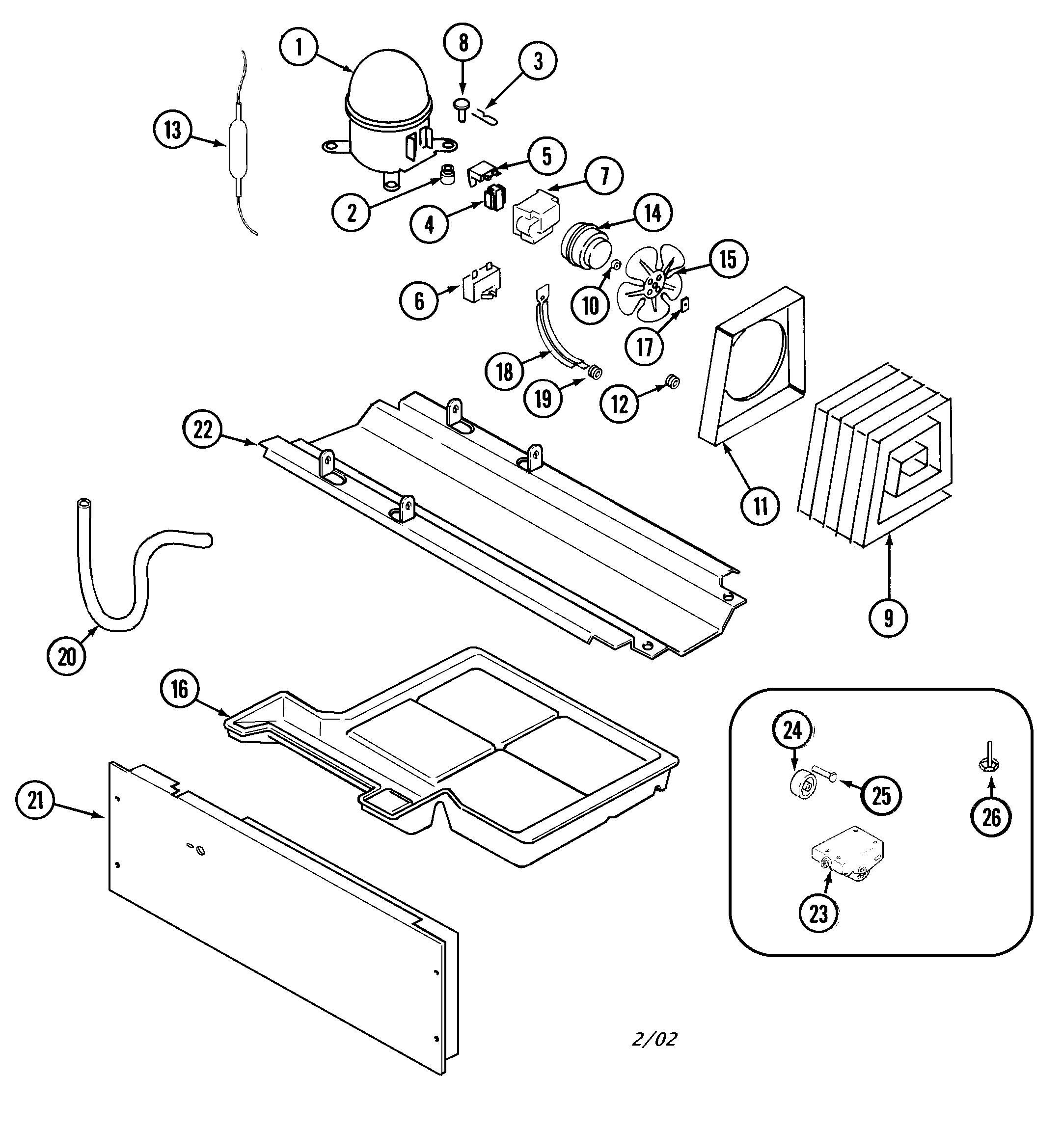 Magic Chef Ctl Dew Compressor Run Capacitor
