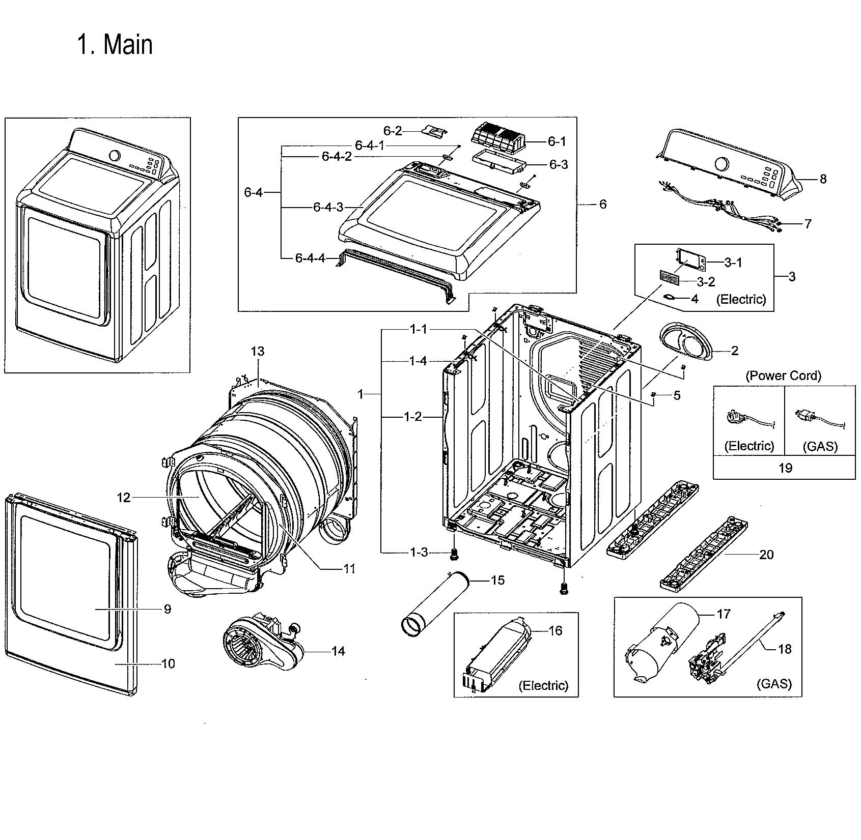 Samsung Dve52m V A3 Dryer Drum Wrapper