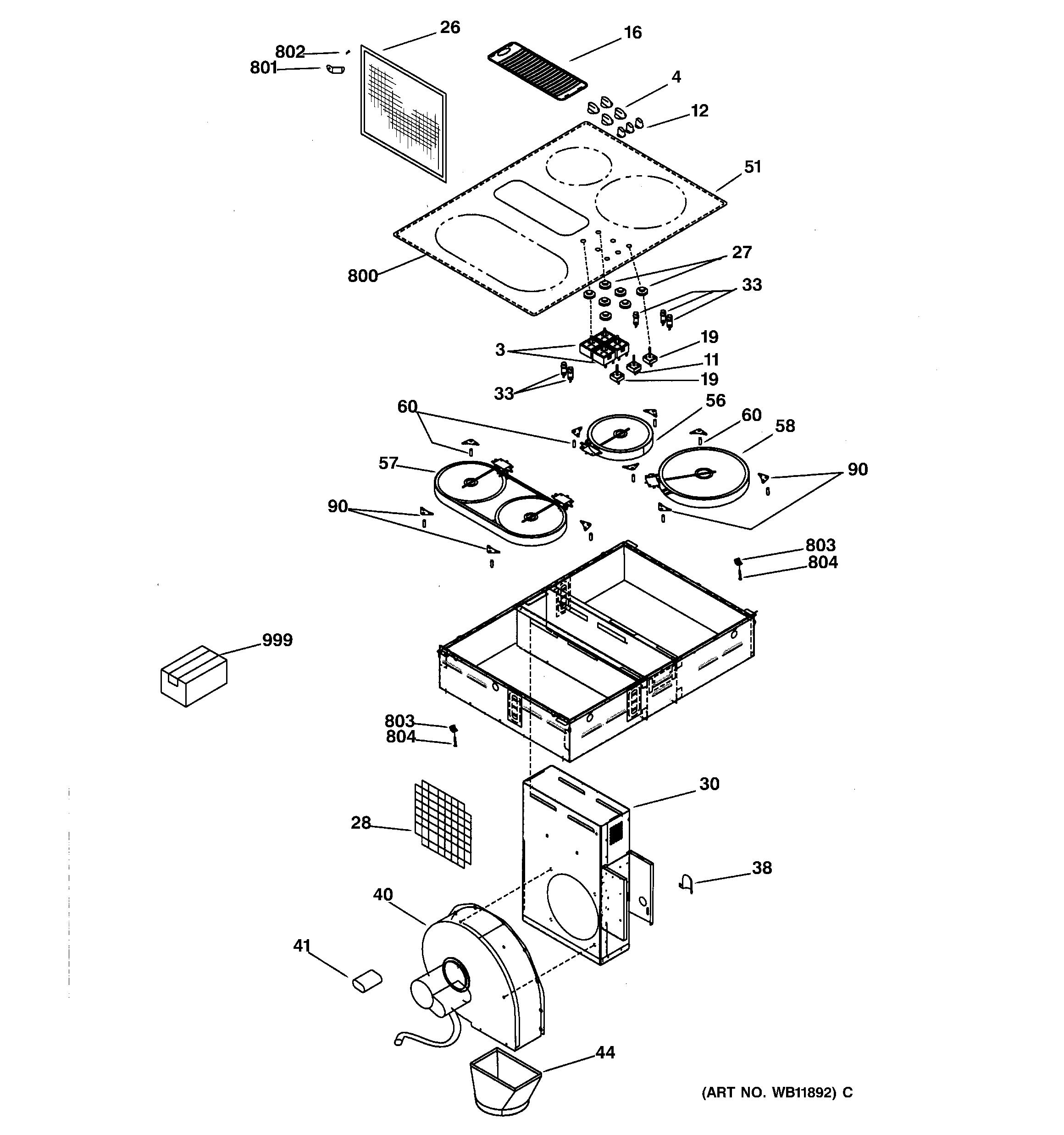 Ge Jp989cd1cc Razor Blade Sc R