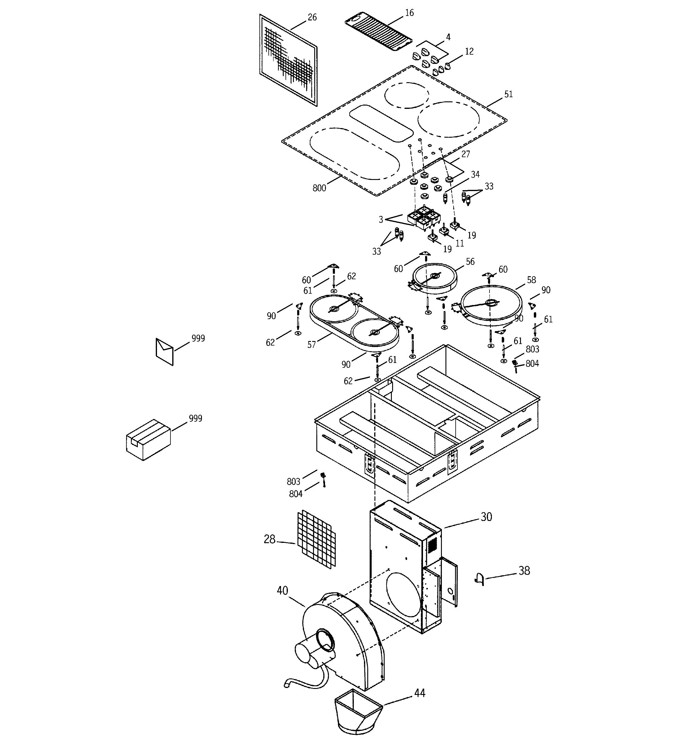Ge P989td3ww Infinite Surface Unit Switch