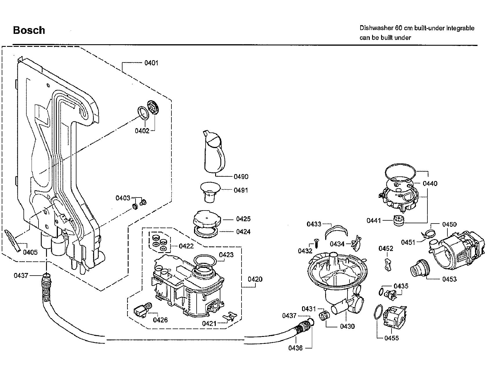 Bosch Shx7er55uc 50 Heat Pump Motor