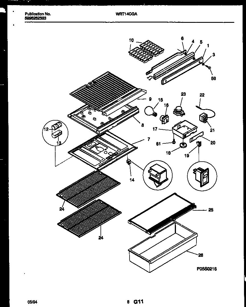 Frigidaire Refrigerator Light Bulb