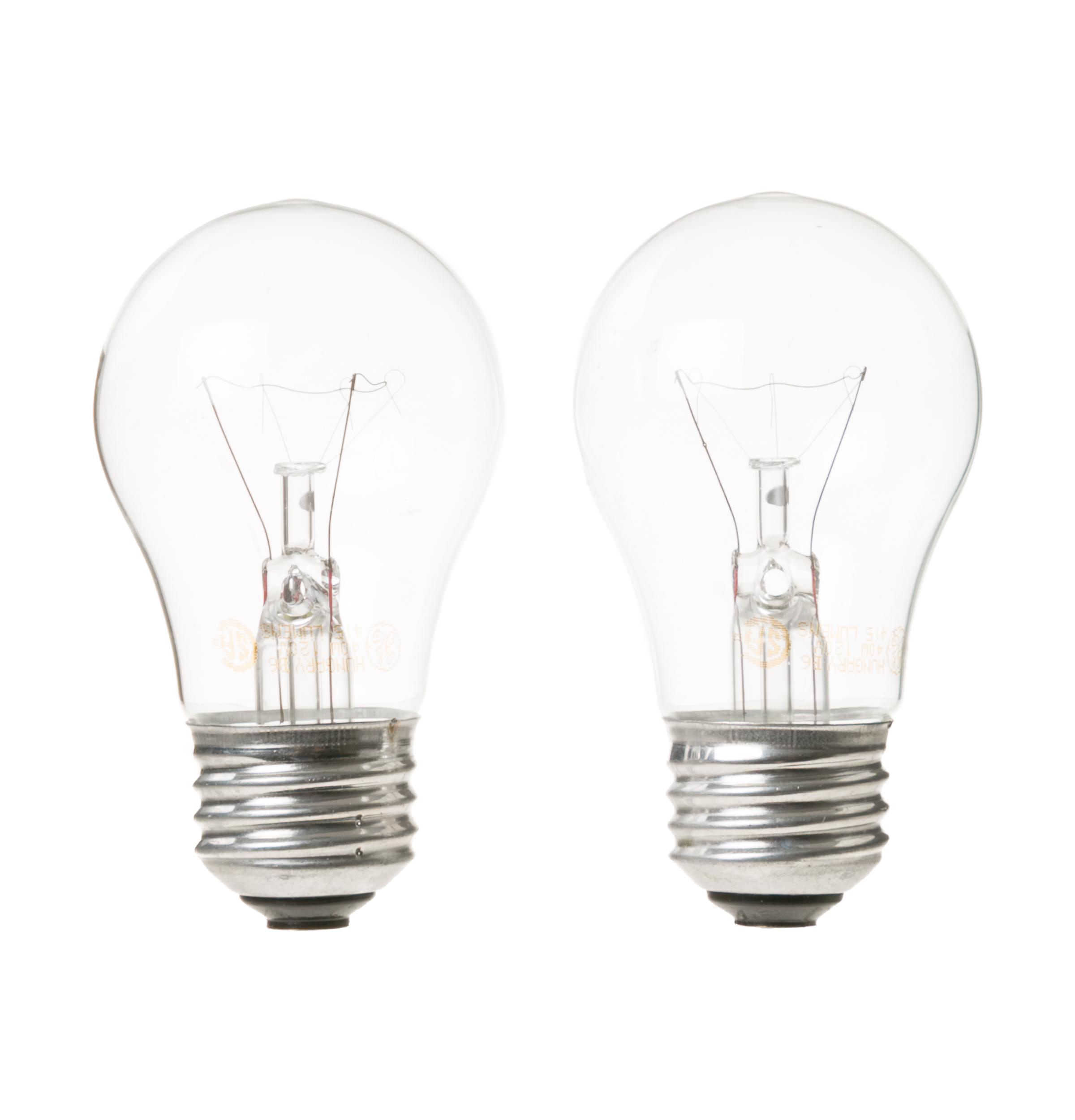 Ge Gfsl2kexals Light Bulb 40 Watts 2 Pack