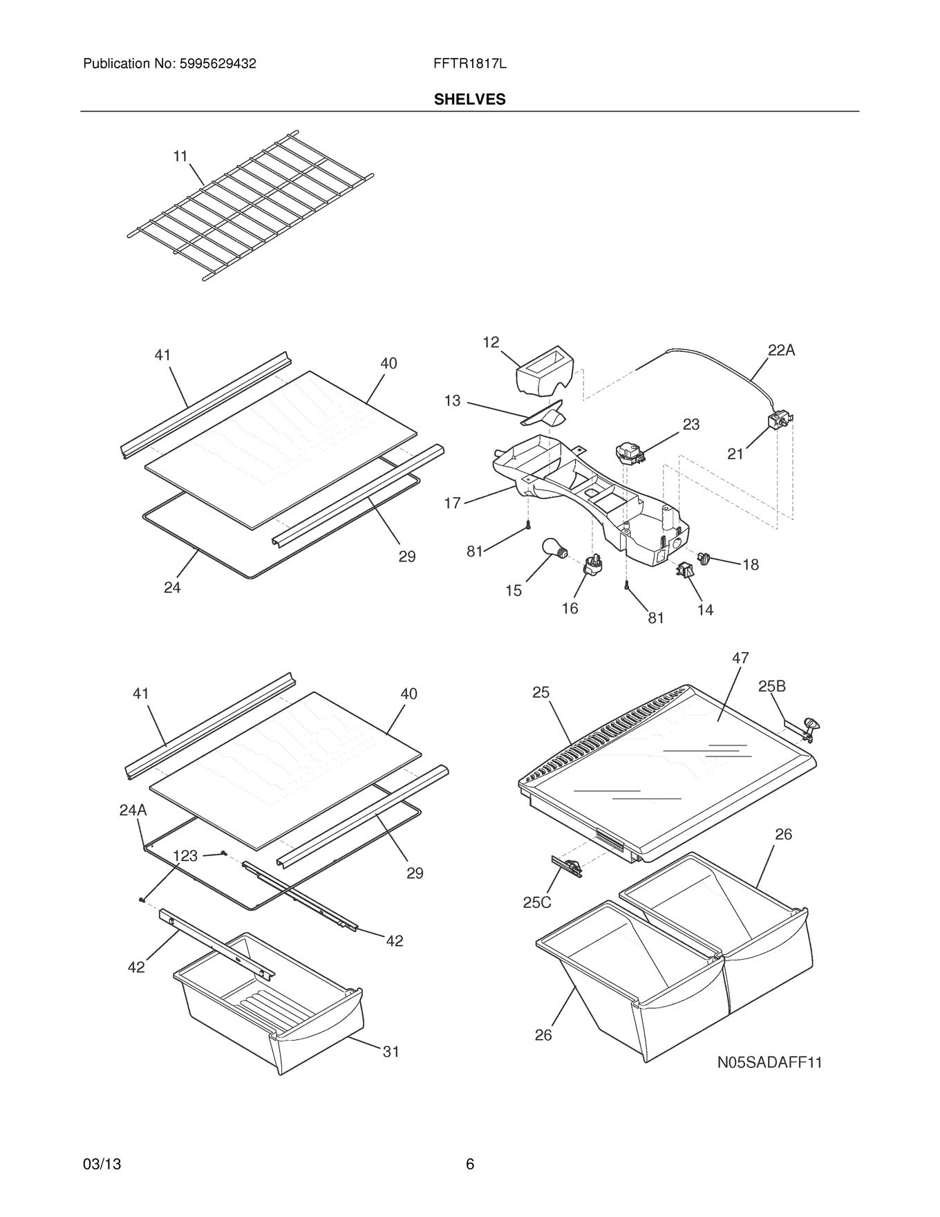 Frigidaire Fftr Lwb Control Box Wiring Harness Genuine Oem