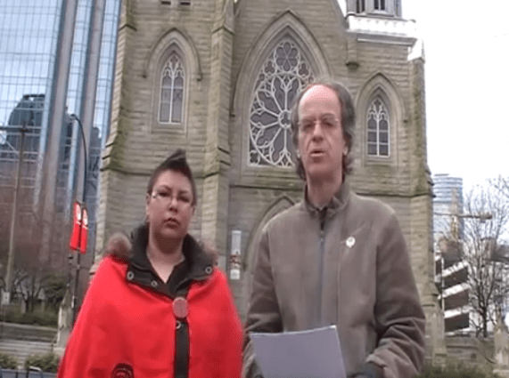 Shawna Green and Kevin Annett (sorta) evicting the Vatican...