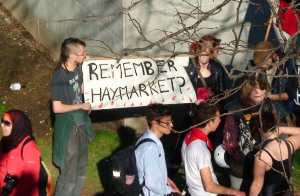 Those of us who've forgotten Haymarket should re-read our history...