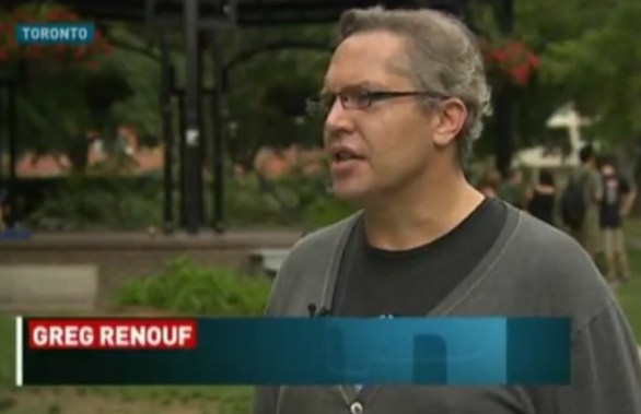 Greg Renouf on CBC The National...