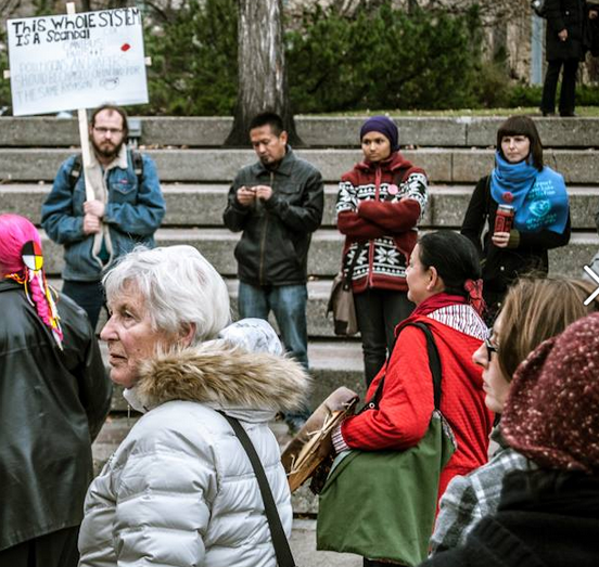 Can you spot the Sierra Club anarchist?