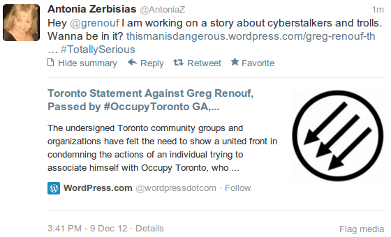 This is what they call journalism at the Toronto star: