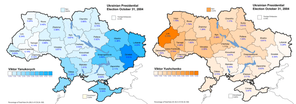 Ukrainian opinion is deeply divided