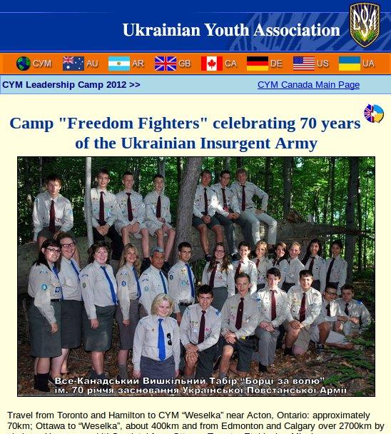 Ukrainian Canadian Freedom Fighters