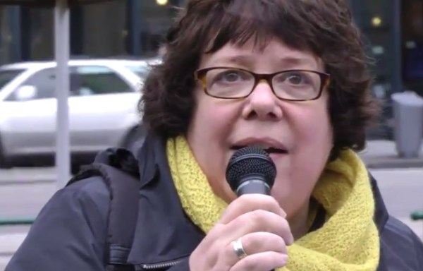 "Libby Davies: ""I think what we should most be concerned about is that American dirty politics has now come to Canada"""